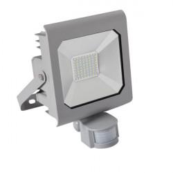 Proiector LED Kanlux 25582 ANTRA - Proiector led cu senzor de miscare, 50W, 4000k, IP44, argintiu