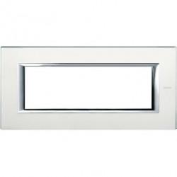 Rama Bticino HA4806VSA Axolute - Rama din sticla, rectangulara, 6 module, st. italian, mirror glass