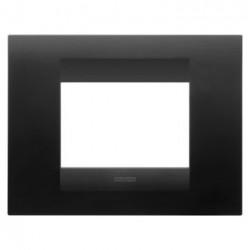 Rama Gewiss GW16402VN Chorus - Rama Geo, 2M, tehnopolimer oriz, negru satin