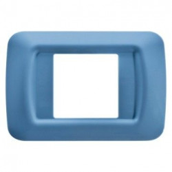 Rama Gewiss GW22562 System -Rama Top System 2M, tehnopolimer, oriz, albastru ciel