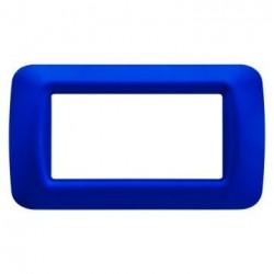 Rama Gewiss GW22574 System -Rama Top System 4M, tehnopolimer, oriz, albastru jazz