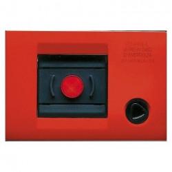 Rama Gewiss GW32451 Playbus - Rama fara suport pentru buton de urgenta