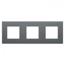 Rama Gewiss GW35903AD Dahlia - Rama 3 posturi, dark grey