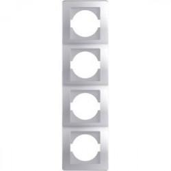 Rama Tem OE41ES-U Ekonomik - Rama 4 posturi verticala argintiu