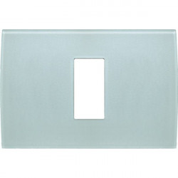 Rama Tem OP13GG-U Modul - Rama din sticla decorativa Pure 1/3M verde gheata