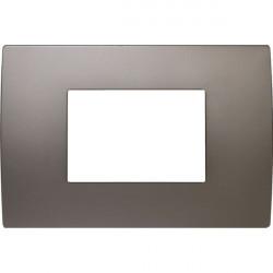 Rama Tem OP30MN-U Modul - Rama metalica decorativa Pure 3m nichel satinat