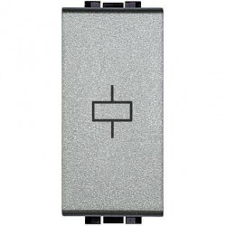 Releu Bticino NT4330/230 Living Light - Releu independent monostabil, 230V, 1M, 10A, argintiu