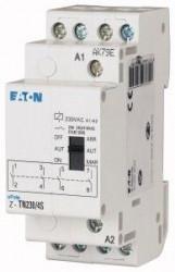Releu Eaton 265579 - Releu de monitorizare viteza oprire 250V, AC, Z-TN230/4S-Releu 20A cu preselect funct ON-AUTO-OFF