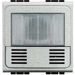 Senzor miscare Bticino NT4658N Living Light - Senzor de miscare cu infrarosu, 2M, argintiu