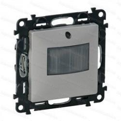 Senzor Miscare Legrand 752370 Valena Life - Senzor de miscare, fara neutru, 250W, 10s-10min, aluminiu