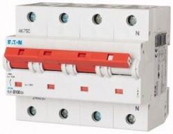 Siguranta automata Eaton 248066 - DISJUNCTOR PLHT-C100/3N 15-25kA 4P, 100A, C
