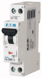 Siguranta automata Eaton 263286 - DISJUNCTOR PLN6-C40/1N 40A, 1P+N, 40A, 6kA, C