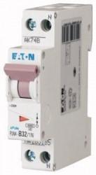 Siguranta automata Eaton 263303 - DISJUNCTOR PLN4-C32/1N 1P+N, 32A, 4,5kA, C
