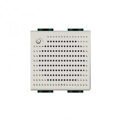 Sonerie Bticino N4355/12 Living Light - Sonerie de bronz 230V c.a., 3 sunete distincte, 2M, alb