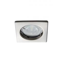 Spot Kanlux 26729 ALOR-DTL - Inel spot fix incastrat LED GU10, max 35W, IP 20, inox periat