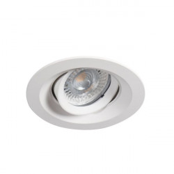 Spot Kanlux 26740 COLIE DTO - Inel spot directional incastrat LED GU10, max 35W, IP 20, alb