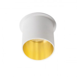 Spot Kanlux 27321 Spag - Inel spot incastrat LED GU10, max 35W, alb/auriu