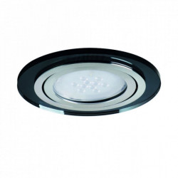 Spot Kanlux 27961 Morta - Spot incastrat LED GU10, 20W, negru