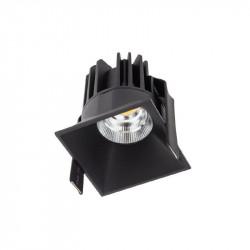 Spot Led Arelux XDomino DM01NW50 BK - Corp iluminat cu led 15W 700mA 50grd. 4000K IP20 BK (5f), negru