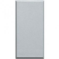 Tasta falsa Bticino HC4950 Axolute - Tasta falsa 1 modul, argintiu