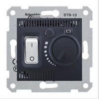 Termostat Schneider SDN6000170 Sedna - Termostat de camera 10 A - 230 V, grafit