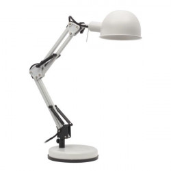 Veioza Kanlux 19300 PIXA - Lampa de birou LED, E14, max 40W, IP20, alb