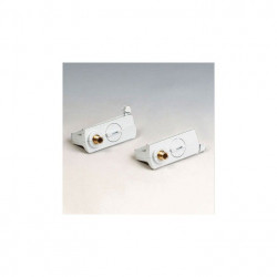 Adaptor Arelux Track TK1017 MWH - Adaptor pentru sine cu trei circuite 3C, alb