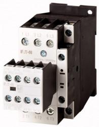 Contactor Eaton 106372 - Contactor putere DILM25-22(RDC24)-Contactor 11KW, regim AC-3