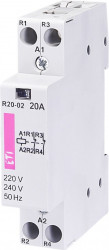 Contactor modular Eti 2461210 - R20 20 230V