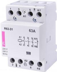 Contactor modular Eti 2463460 - R63-30 01 230V
