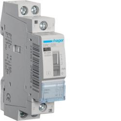 Contactor modular Hager ERC225 - CONTACTOR MANUAL, 25A, 2ND, 230V