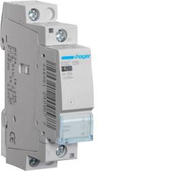 Contactor modular Hager ESD125 - CONTACTOR, 25A, 1ND, 24V