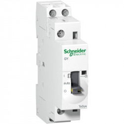 Contactor modular Schneider GY2520M5 - CONTACTOR 25 A - 2 NO - coil 220...240 V AC
