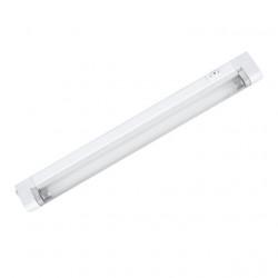 Corp de iluminat 8301 Kanlux MERA TL-8 - Corp iluminat liniar, G5, T5, 1x8W, 2700K, 343mm, alb