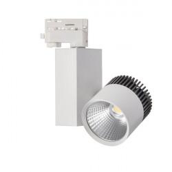 Corp de iluminat Kanlux TRAKO LED 22621 - Proiector pe sina, COB, 20W, 4000k, 1590lm, IP20, alb