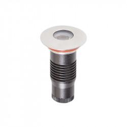 Corp iluminat Arelux XGround GD11WW45 - Corp incastrat cu led 1X1W CREE 3000K 45grd IP67 SS (5f), aluminiu