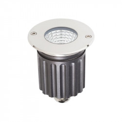 Corp iluminat Arelux XGround GD15WW36 - Corp incastrat cu led 1X6W CREE 3000K 36grd IP67 SS (5f), aluminiu