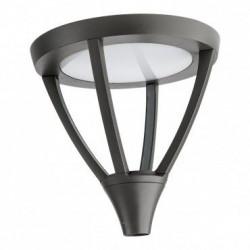 Corp iluminat Arelux XTown TT02WW DG - Corp iluminat rezidential 45W 3000K IP65 (5f), negru
