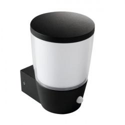 Corp iluminat Kanlux 25681 SORTA 16L-UP-SE - Aplica gradina cu senzor, E27, max 20W, IP44, negru