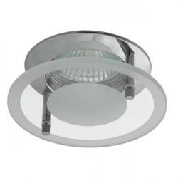 Corp iluminat Kanlux 2576 DINO CTX-DS02G - Spot incastrat, Gx5,3, max 50W, 12V, IP20, crom