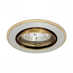 Corp iluminat Kanlux 2751 CEL PARLE CTC-5519 - Spot incastrat directional, Gx4, max 35W, 12V, IP20,nichel/auriu