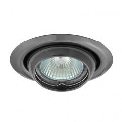 Corp iluminat Kanlux 337 ARGUS CT-2117-C/M - Spot incastrat directional, Gx5,3, max 50W, 12V, IP20, argintiu