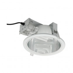 Corp iluminat Kanlux 4371 NAZAR DLP-200 - Corp iluminat incastrat, CFL, G24q, T2U, 2x max 26W, IP20, alb