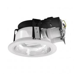 Corp iluminat Kanlux 4822 BEN DL-220-W - Corp iluminat incastrat, E27, 2x max 20W, IP20, alb