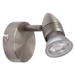 Corp iluminat Kanlux 7085 MOLI EL - Aplica, GU10, max 50W, IP20, inox