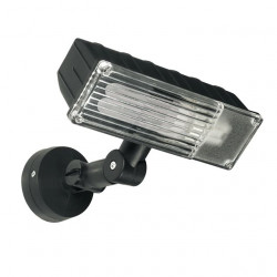 Corp iluminat Kanlux 7215BRUNO EL-20-B - Proiector CFL, E27, max 20W, IP44, negru
