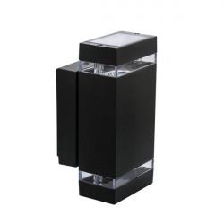 Corp iluminat Kanlux ZEW 22440 - Corp iluminat fatada 2x max 35W, GU10, PAR16, IP44, negru