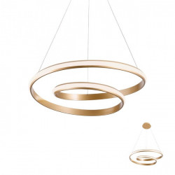 Corp iluminat Redo 01-1794 Torsion - Lustra led, 30W, 3000k, 2490lm, IP20, bronz