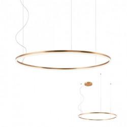 Corp iluminat Redo 01-1917 Orbit - Lustra led, 66W, 4000k, 5652lm, bronz