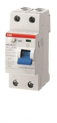 Intrerupator automat ABB 2CSF202002R1400 - FH202 AC-40/0,03, 40A, 0.03A, 4P, AC